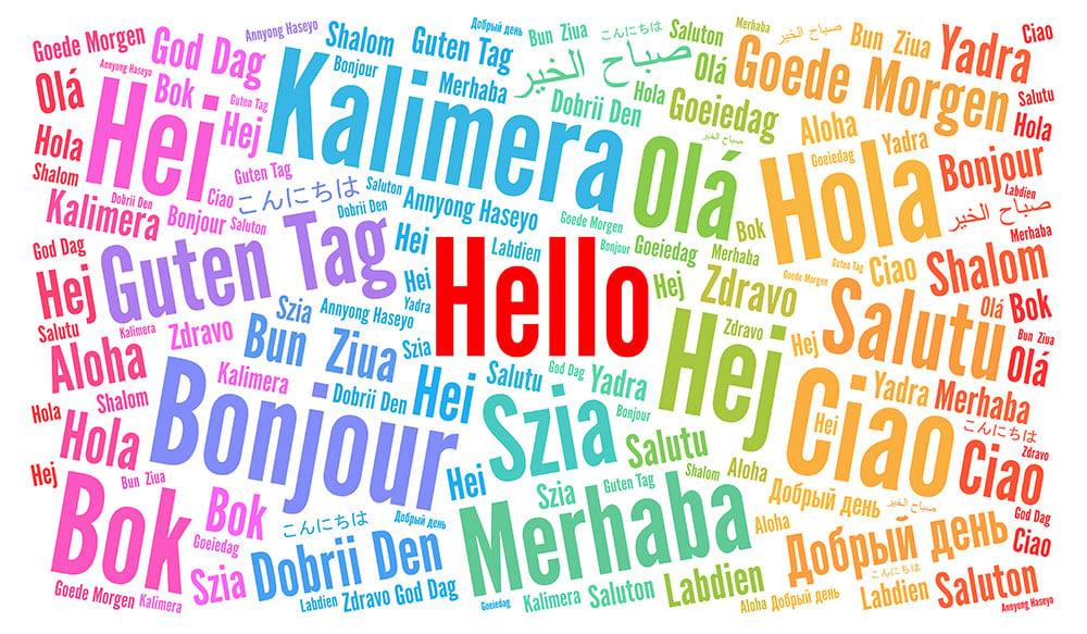 hablar diferentes idiomas