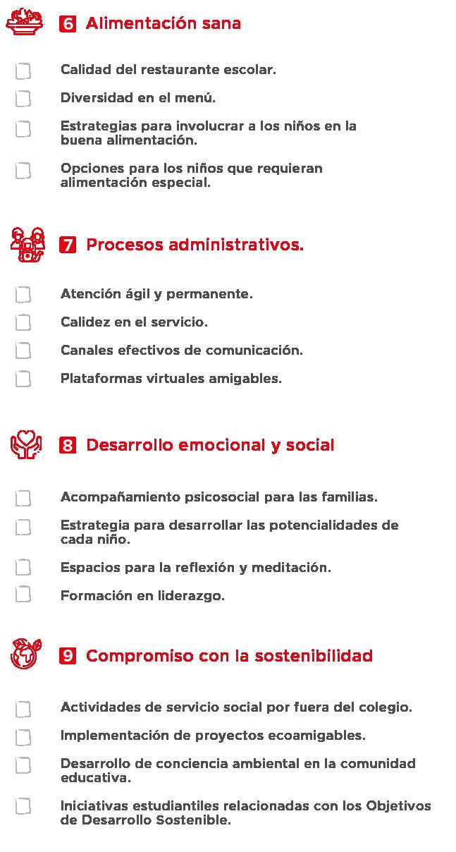 checklist 2 colegio privado santa marta